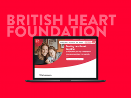 British Heart Foundation cover
